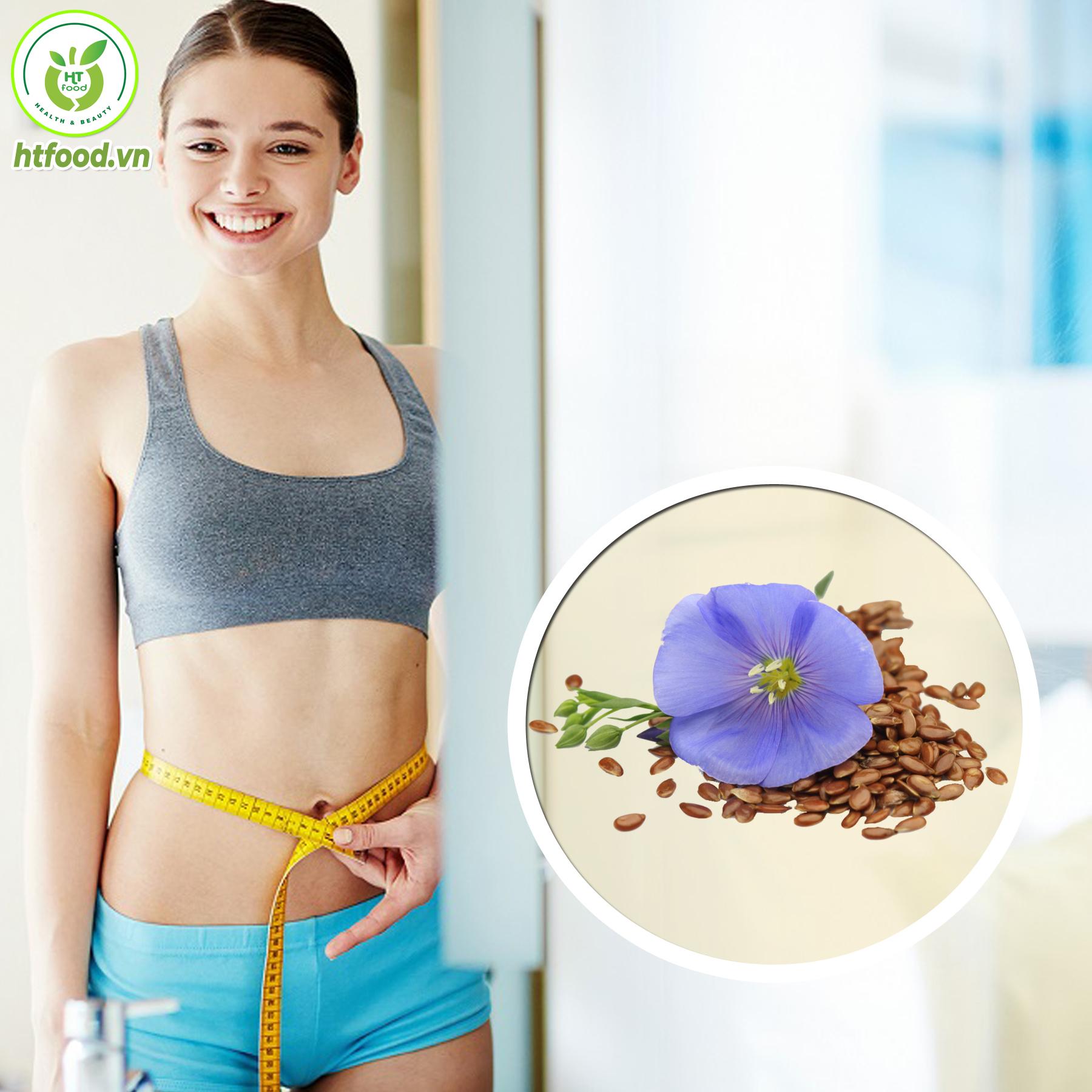 Ăn hạt lanh giúp bạn giảm cân